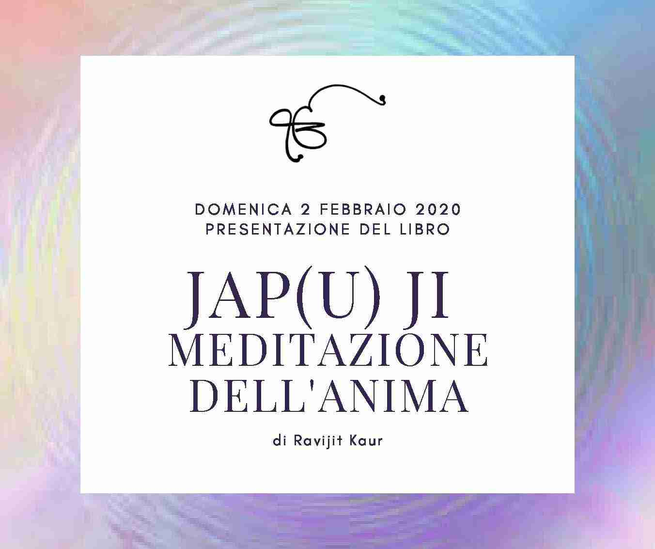 Jap(u)-Ji - Meditazione dell'Anima