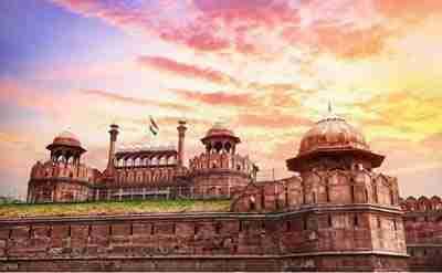 Viaggio in India - Delhi Forte Rosso